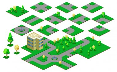Map Isometric