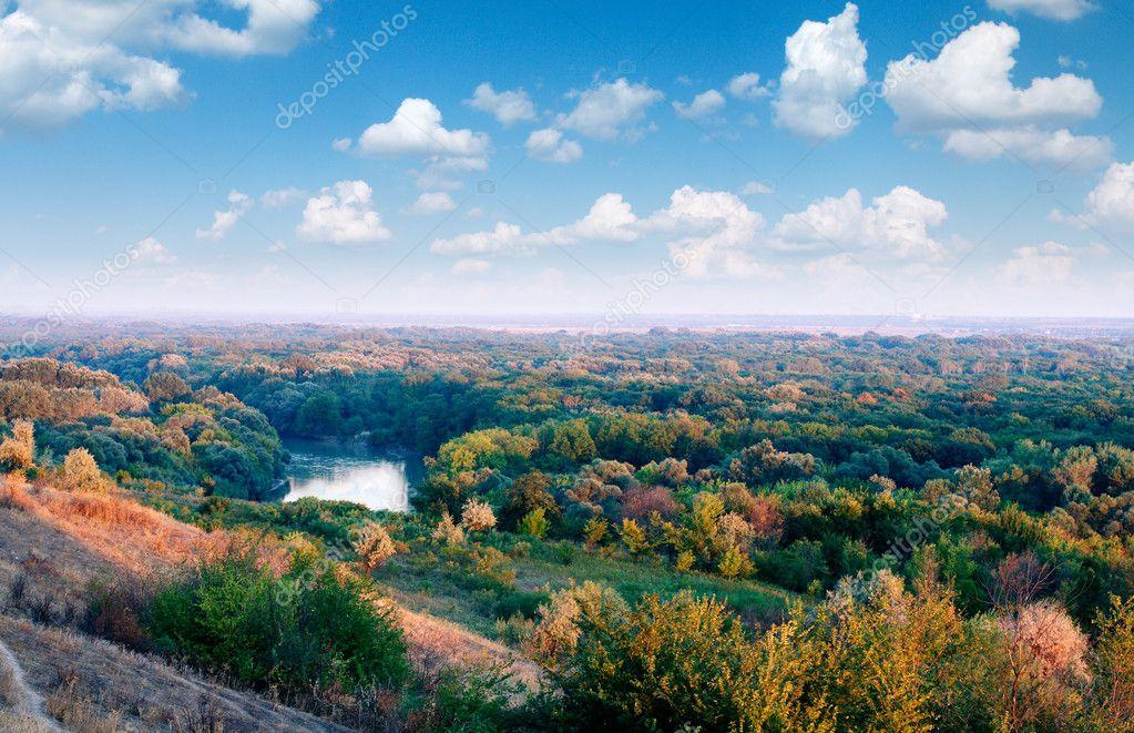 クバン川の風景 — ストック写真 ...