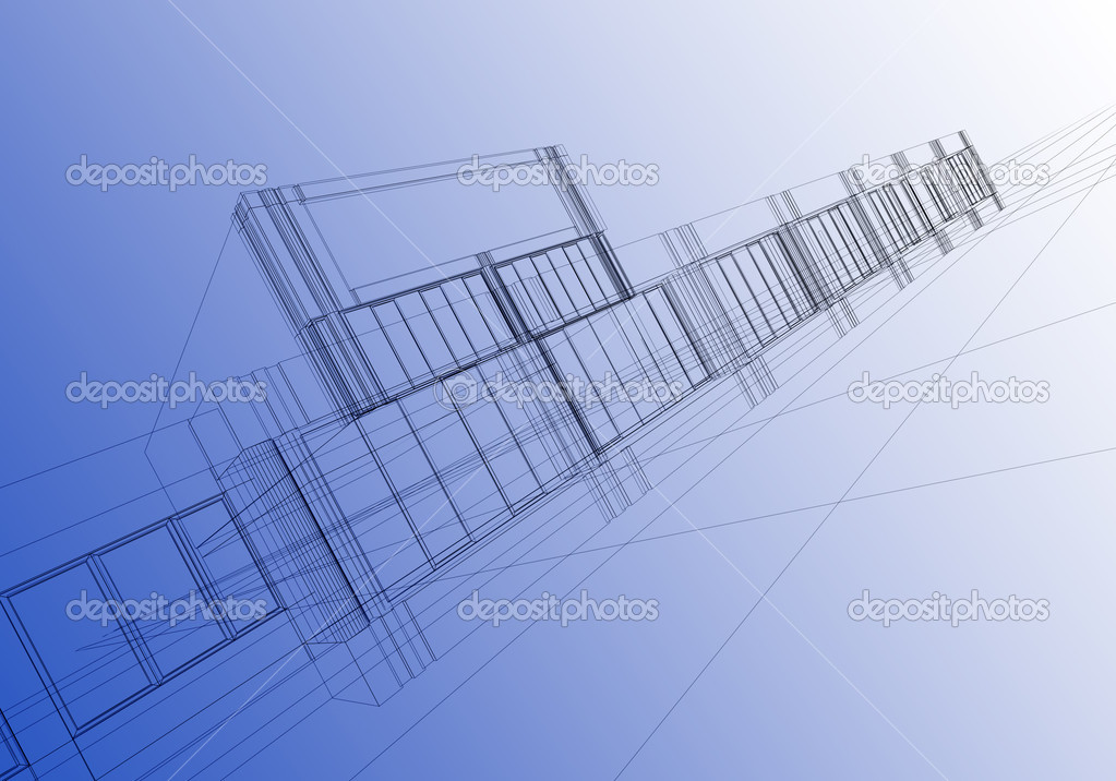 Wireframe abstract — Stock Photo © ArtyFree #1595473