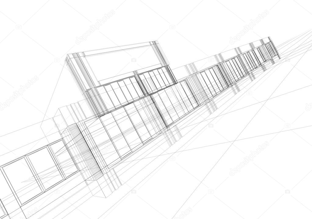 Wireframe abstract — Stock Photo © ArtyFree #1595484