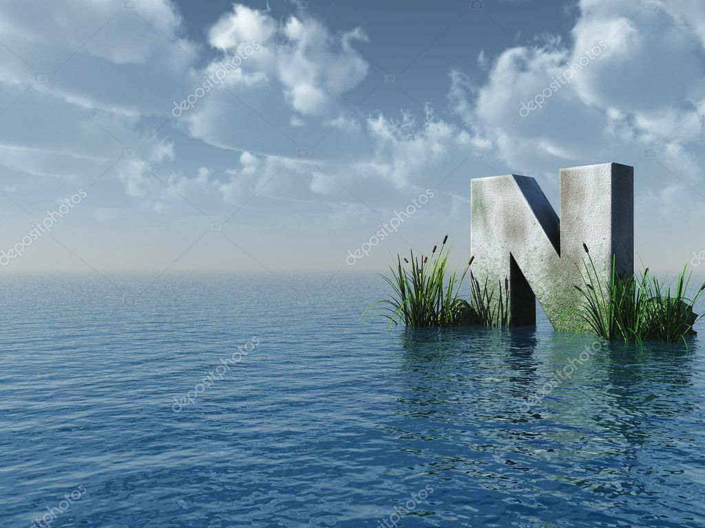 20 Water letter n Stock Photos   Free & Royalty free Water letter ...