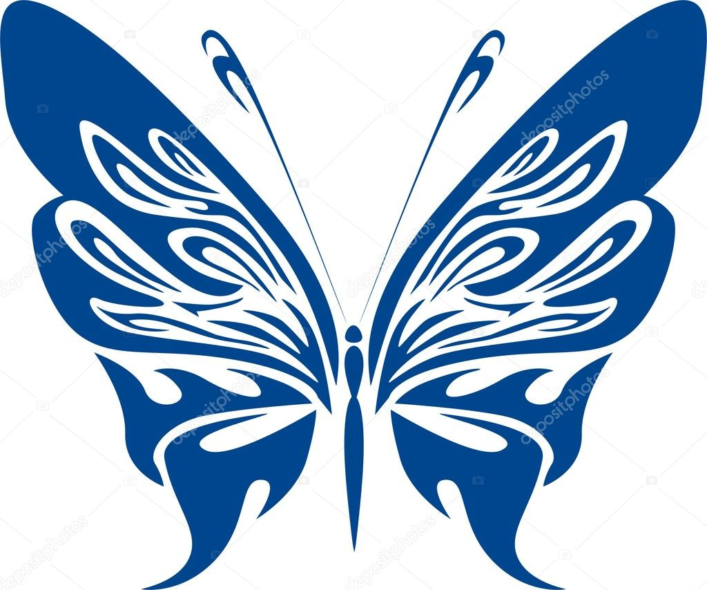 butterfly vector illustration u2014 stock vector razastock 1539091