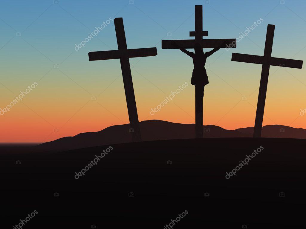 crucifixion u2014 stock photo galdzer 1532286