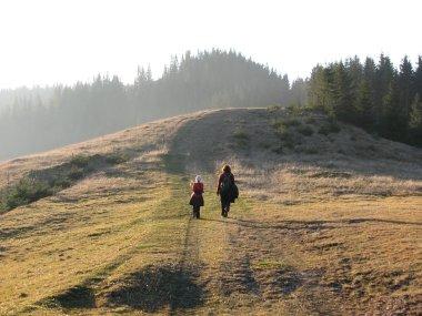 Family walk.