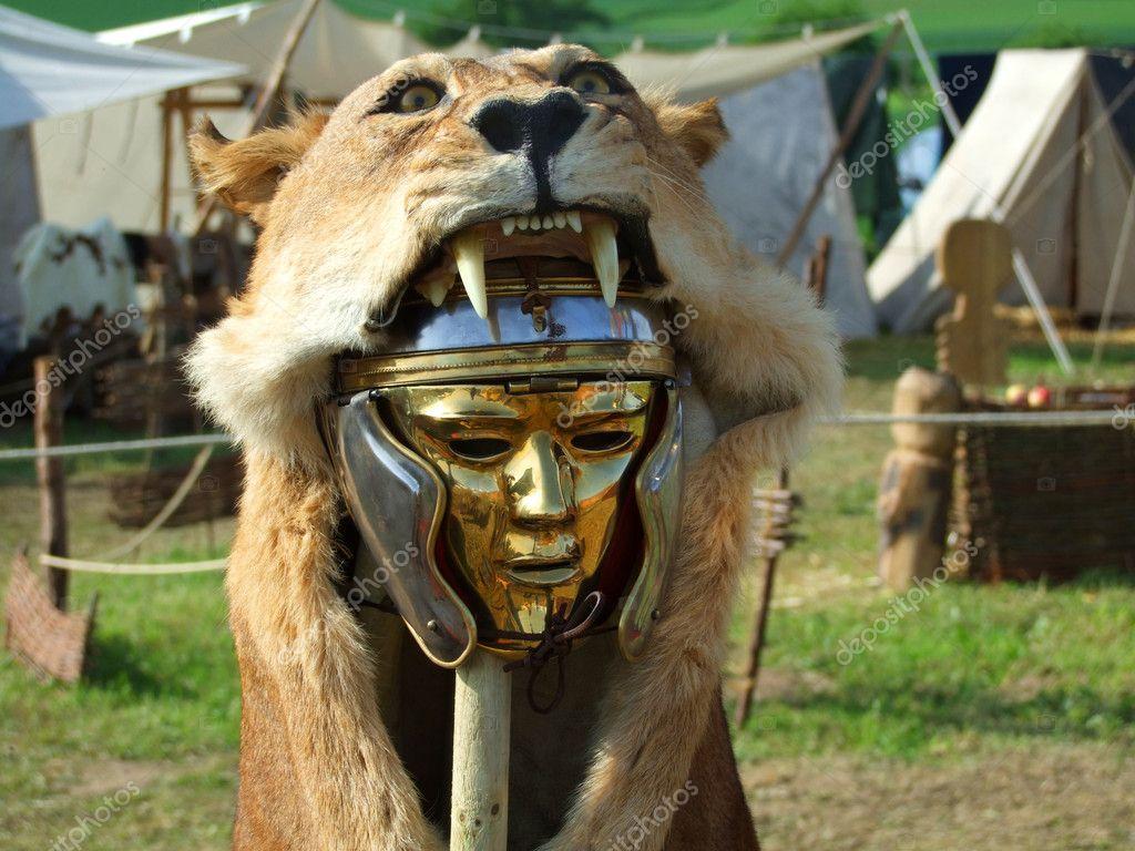 Centurio mask – Stock Image