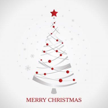 Beautiful christmas tree illustration