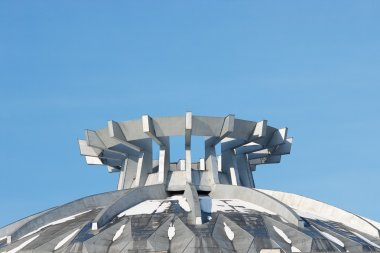 Abstract roof top structure