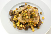 Chicken fillet with mushroom