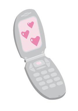 Saint Valentine's mobile phone