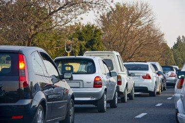 Rush Hour Traffic congestion