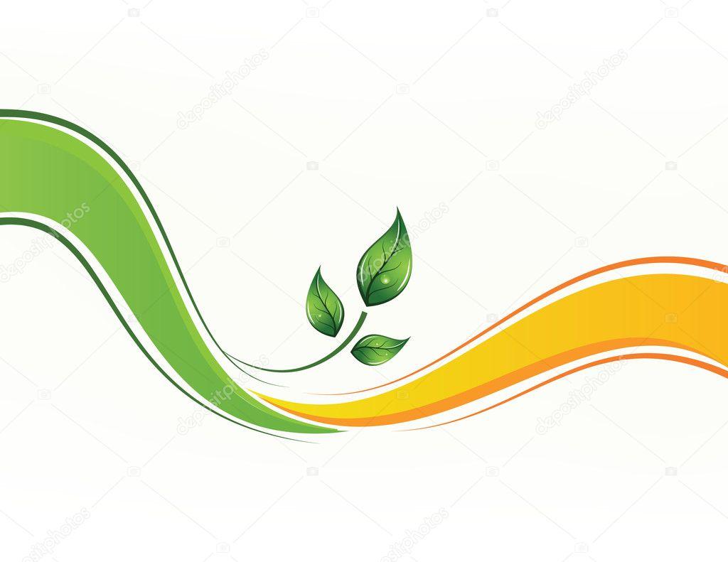 Eco vector background