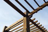 dřevená pergola