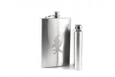 Flask for cognac and whisky