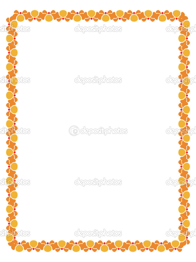 decorative border stock vector cifotart 1894007 rh depositphotos com decorative circle border vector decorative frame border vector