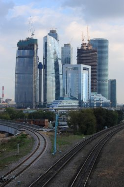 Moscow City Skycrappers of Bussines Centrer