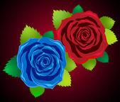 Pozvánka na růže gothic romantické sváteční