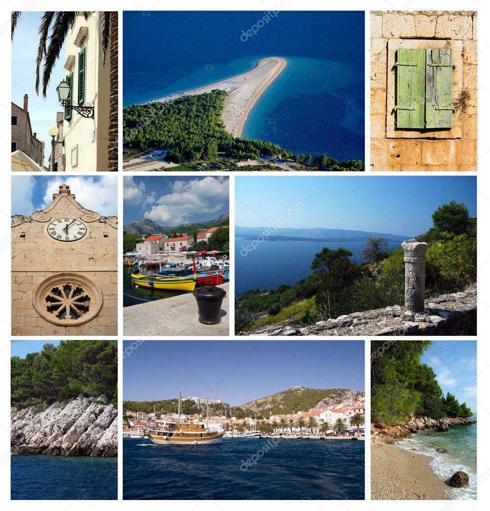Photos from city Bol, Croatia