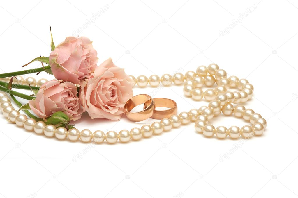 Rings With Pink Pearls