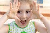 Fotografie die Emotionaly kleines Mädchen
