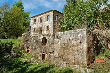 Farm house ruins