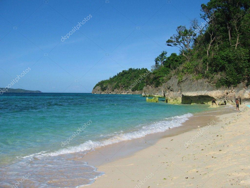 Puka Island of Boracay Philippines