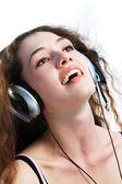 Girl in headphones 2
