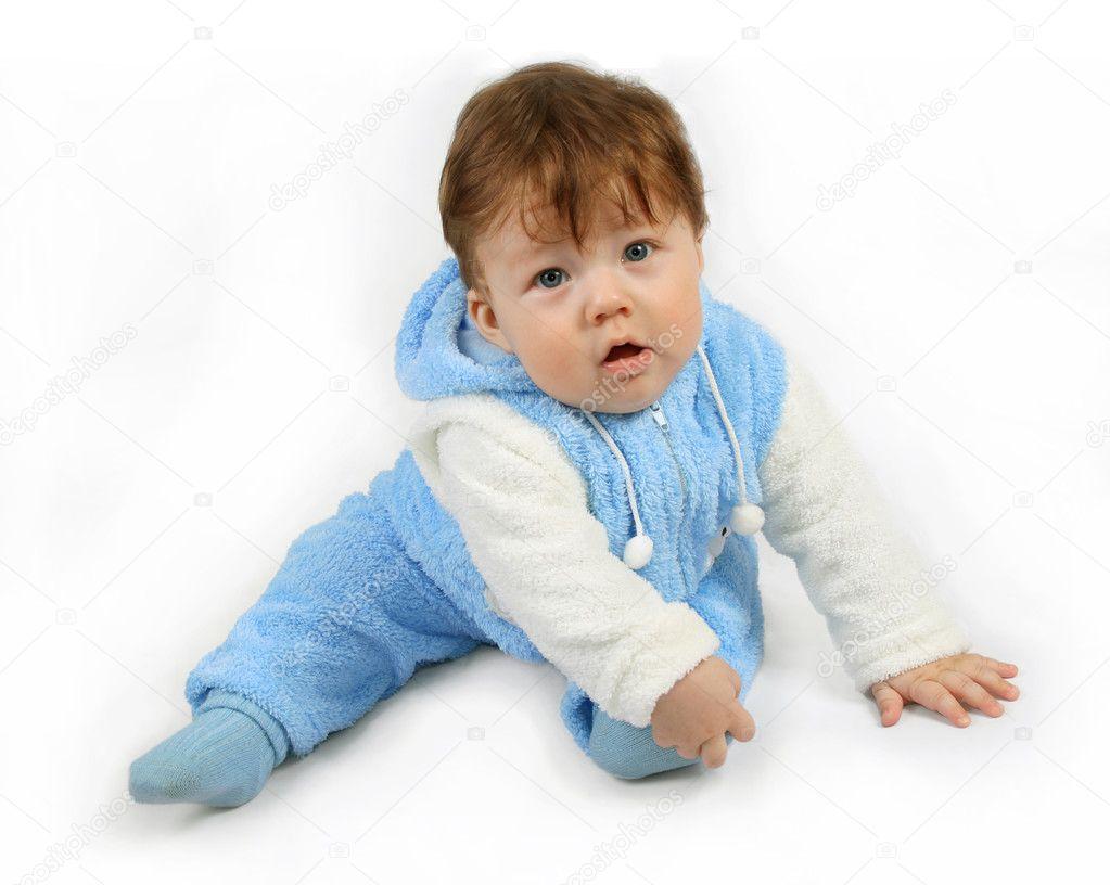 Gelukkig baby jongen u stockfoto sundikova