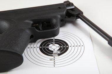 Sport target and gun