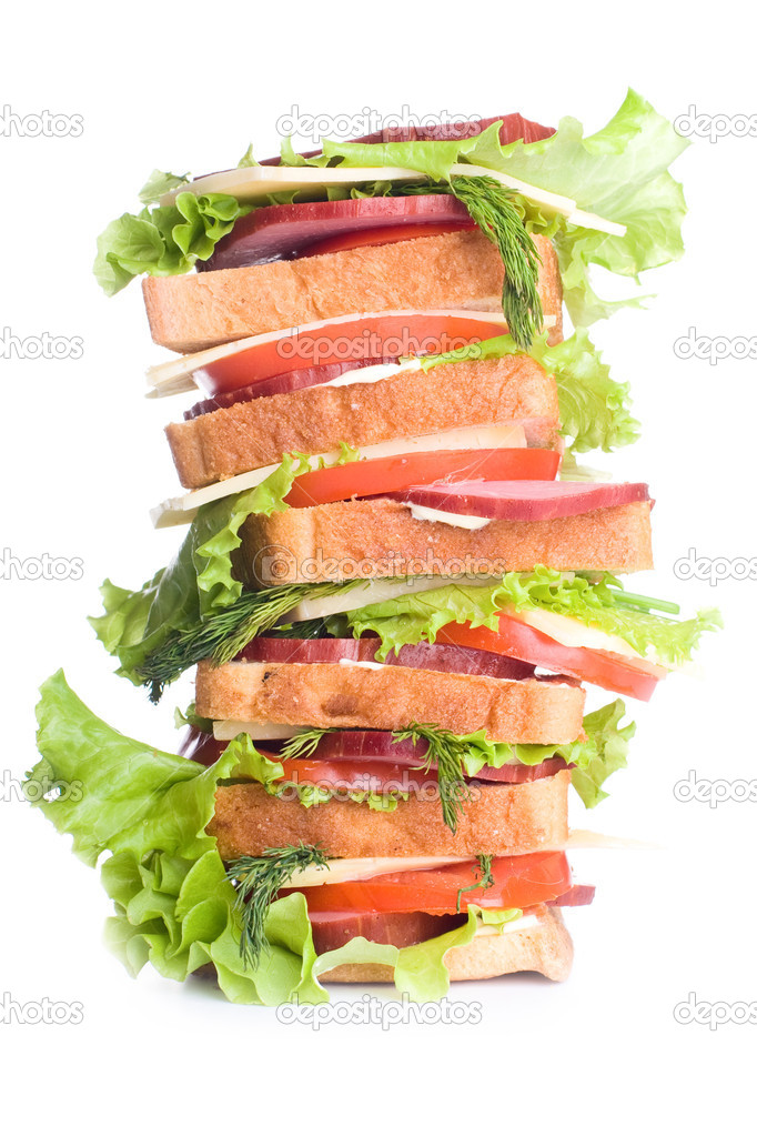 Super Sandwich Stock Photo Indigofish 1650954