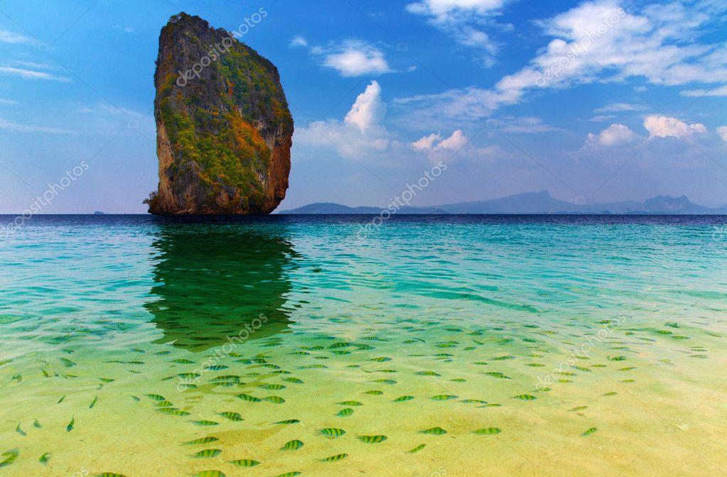 Фотообои Tropical paradise, Poda Island, Thailand
