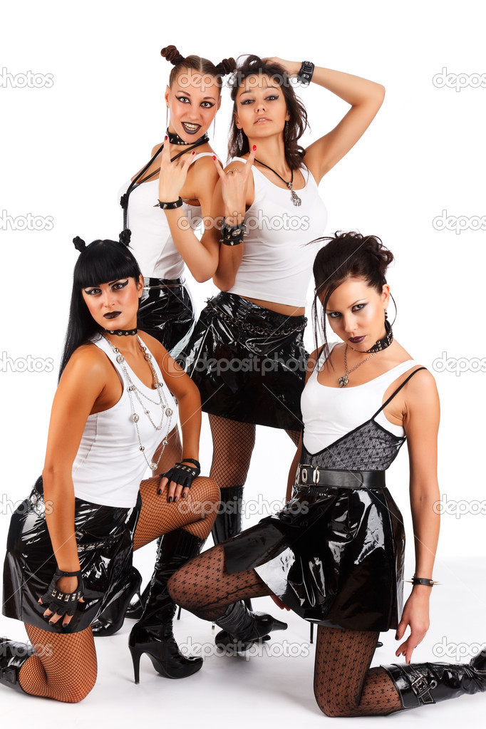 Heavy metal ladies