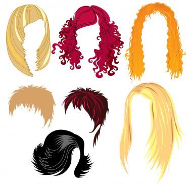 Hair styling for woman