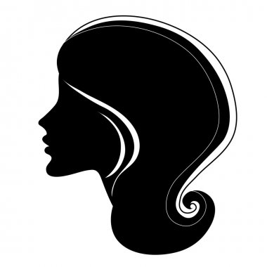 Decorative portrait of woman