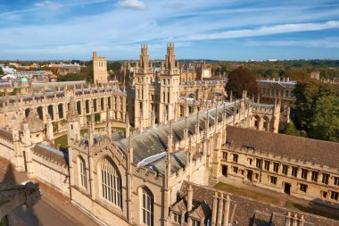 All Souls College. Oxford, England