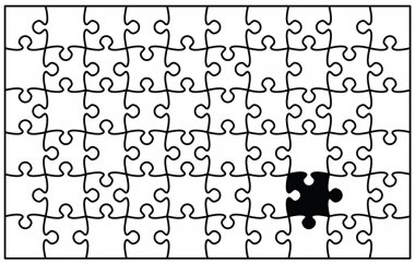 Beautiful jigsaw puzzle