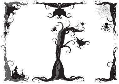 Halloween vector ornament