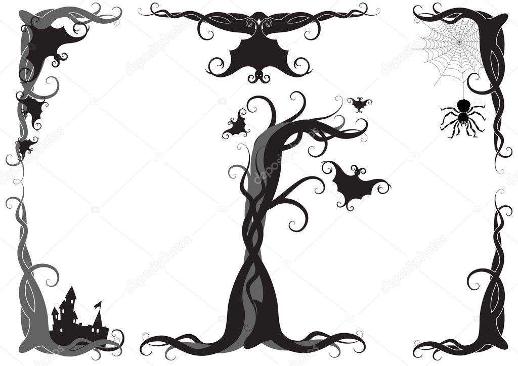 Halloween vector ornament — Stock Vector © Jut_13 #2014251