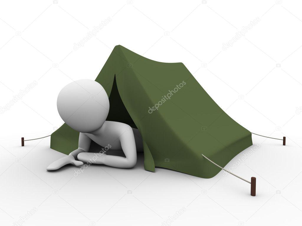 Camping, vacation