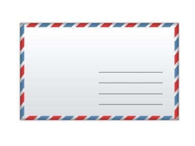 Envelope cover background