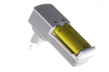 Battery charger closeup