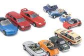 játék-autó modell