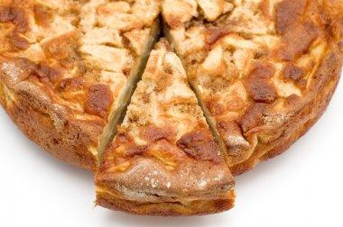 Piece Apple pie