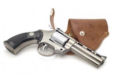 Object on white tool - pistol lighter stock vector