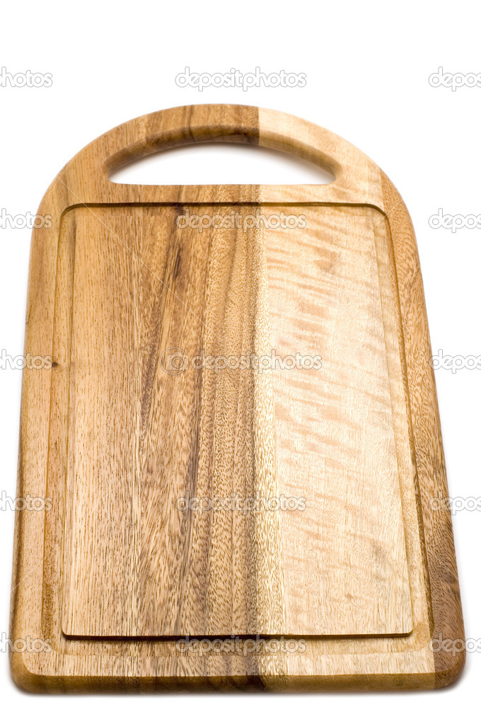 Wooden preparation table