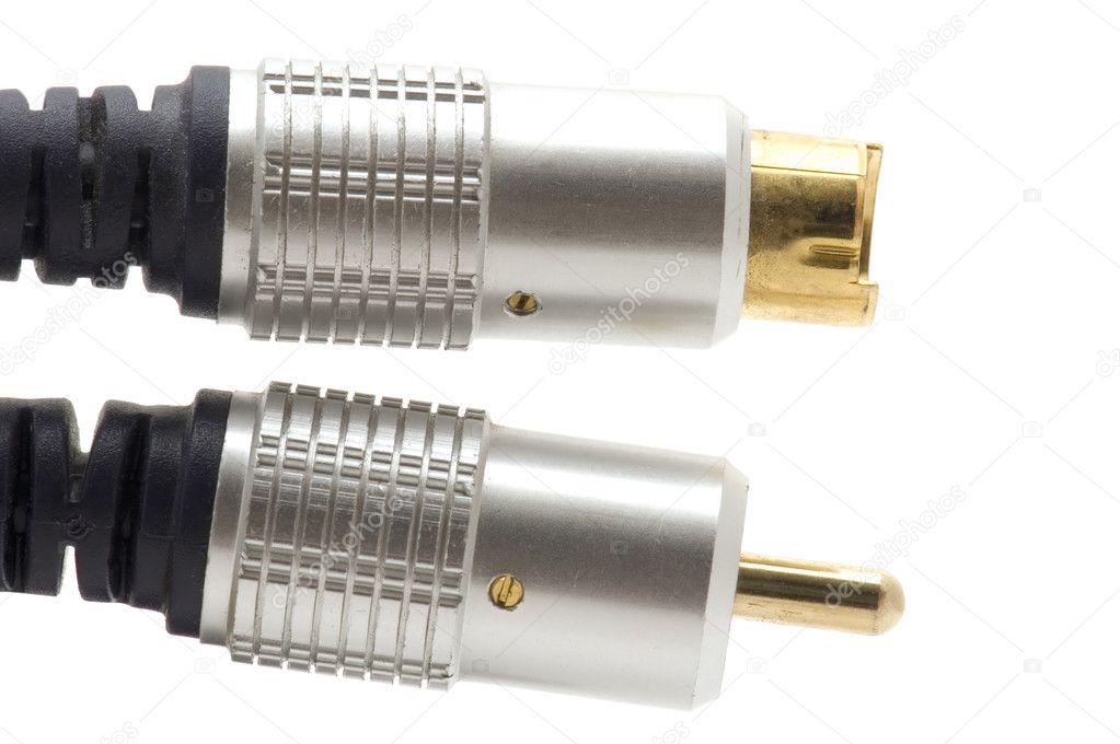 Kabel für tv-Makro — Stockfoto © Garry518 #1845199