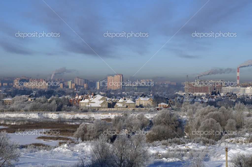 Cold Moscow winter