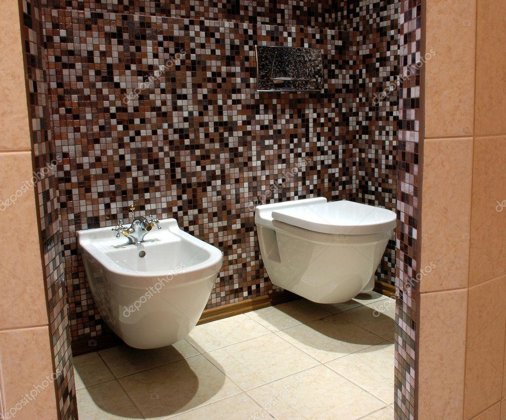 Wc Foto De Stock Ollikainen 1693487 ~ Mosaicos De Azulejos En Paredes