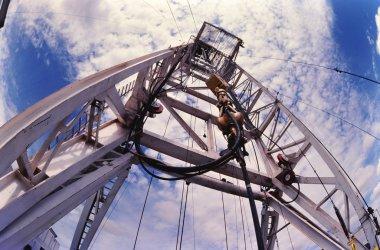 Oil Well Derrick.