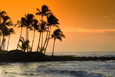 Hawaii at Dusk.