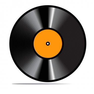 Red vector vinyl